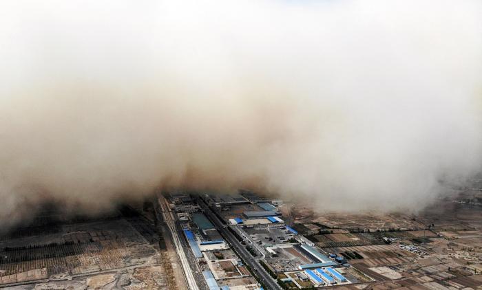 nor de nisip în China