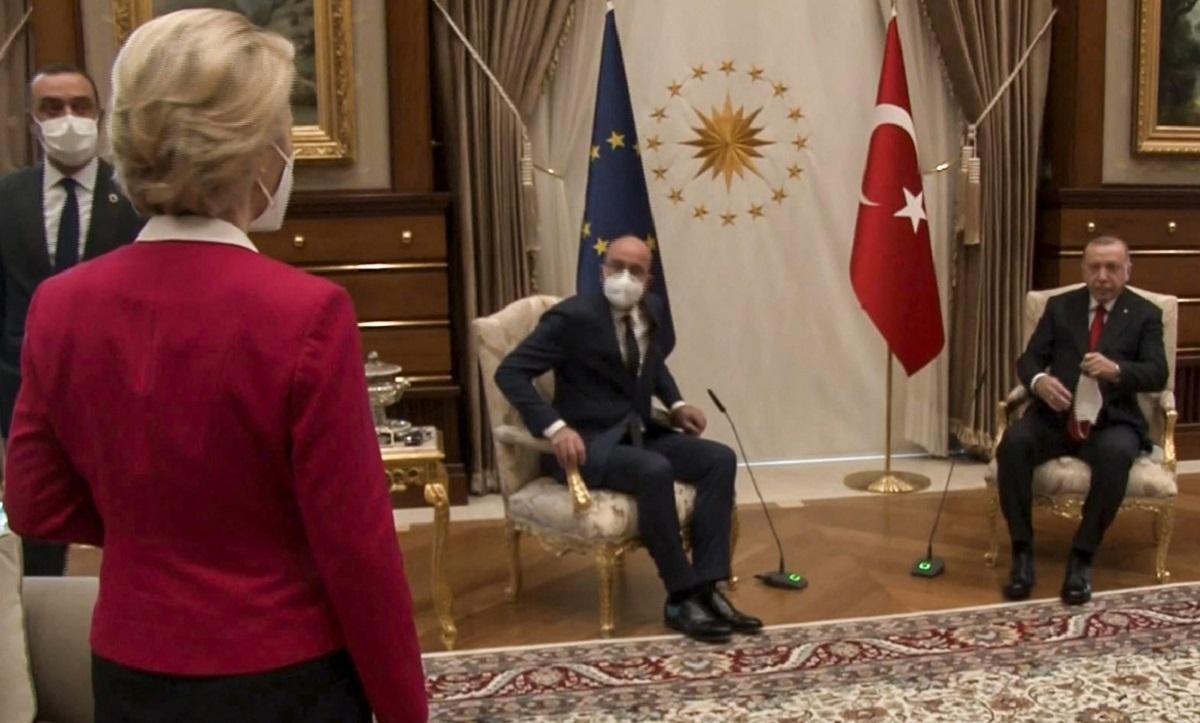 Premierul italian Draghi l-a acuzat pe preşedintele turc Erdogan că a umilit-o pe preşedinta Comisiei Europene