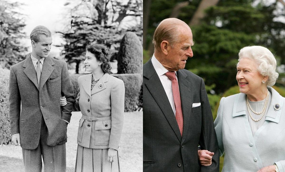 Regina Elisabeta a II-a şi prinţul Philip