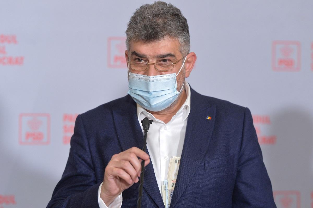 Marcel Ciolacu îi solicită preşedintelui Klaus Iohannis la miniştrii pe care îi consideră incompetenţi