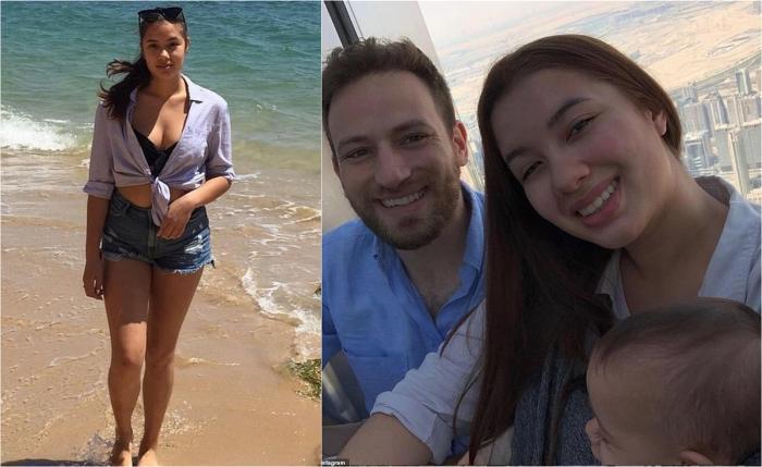 Caroline Crouch, în vârstă de 20 de ani (dreapta), a fost strangulată până la moarte la casa ei din Atena, Grecia, în care locuia cu soțul Babis Anagnostopoulos (stânga) și cu fiica lor