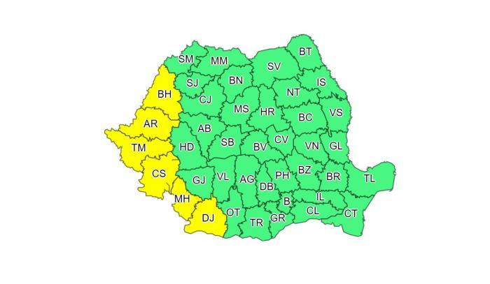 harta meteorologică