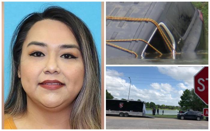 Erica Hernandez și mașina cu care a dispărut pe 18 aprilie