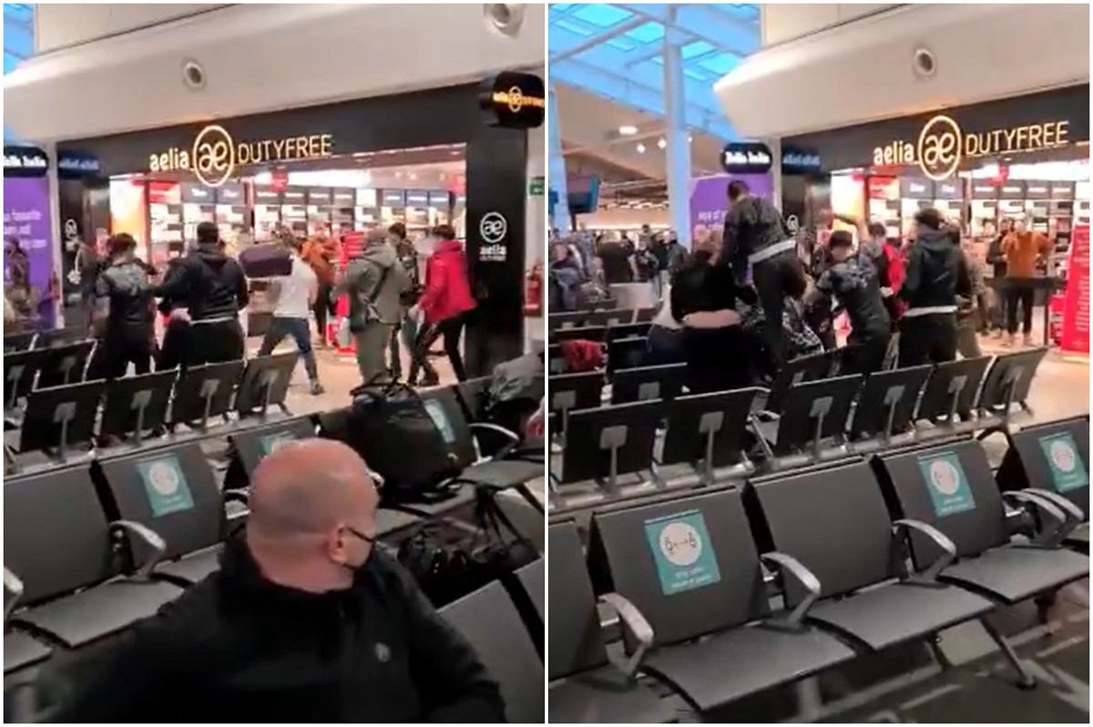 """Bătaia cruntă cu români, în aeroportul din Luton, s-a terminat cu 17 arestări şi trei răniţi grav: """"Suntem șocați și întristați"""""""