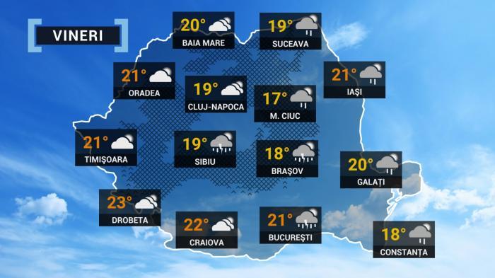prognoza meteo 21 mai