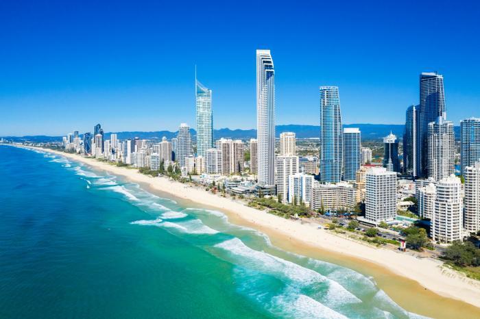 Plajă din Queensland, Australia