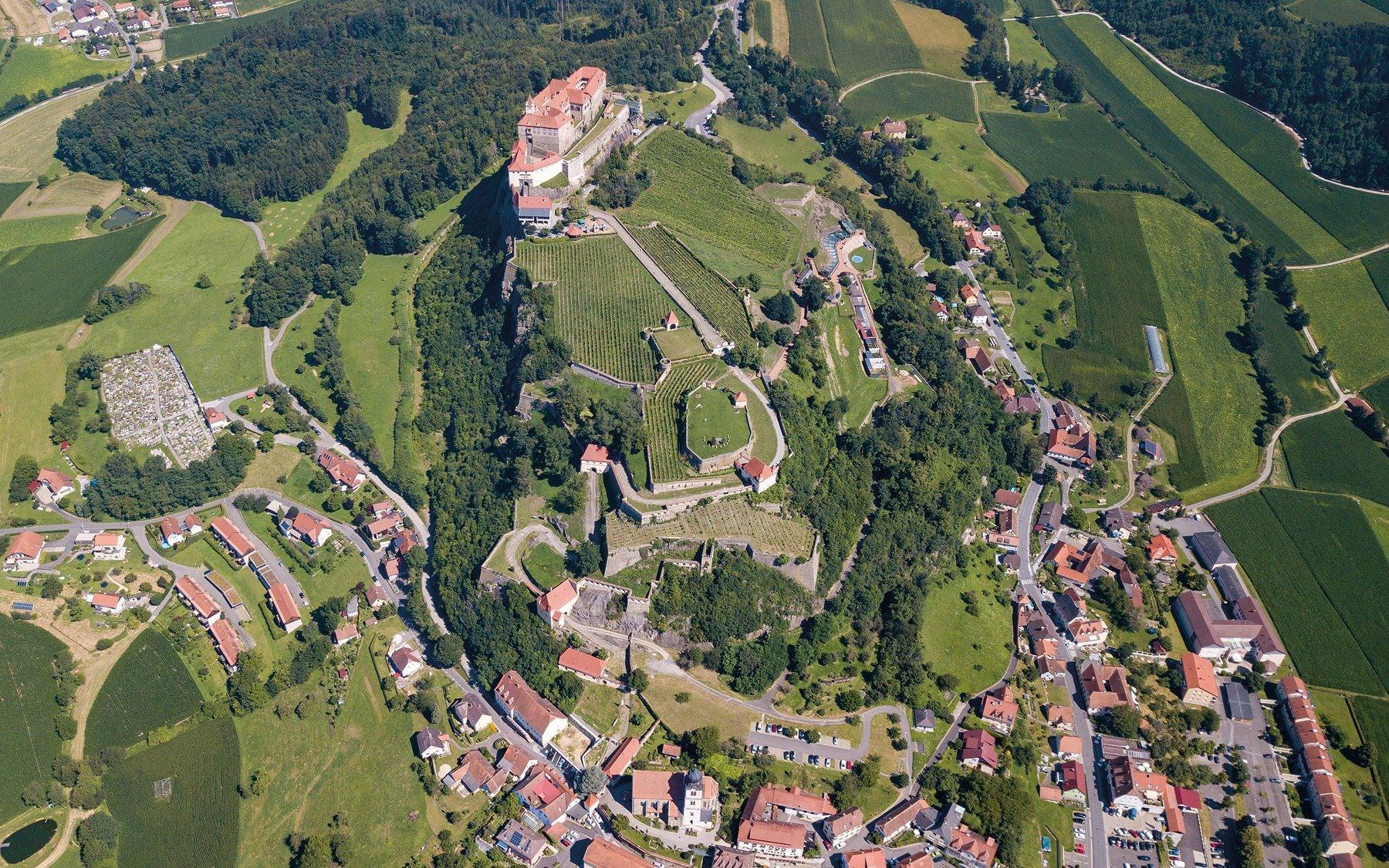 Castelul Burg Riegersburg, deţinut de familia Prinţului Emanuel von und zu Liechtenstein, cel care l-a ucis pe ursul Arthur