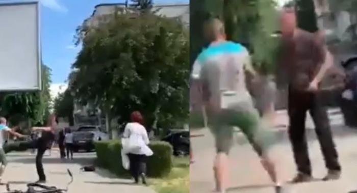 Bărbat din Deva, înjunghiat în faţa Spitalului Judeţean, de un individ cu 10 ani mai tână