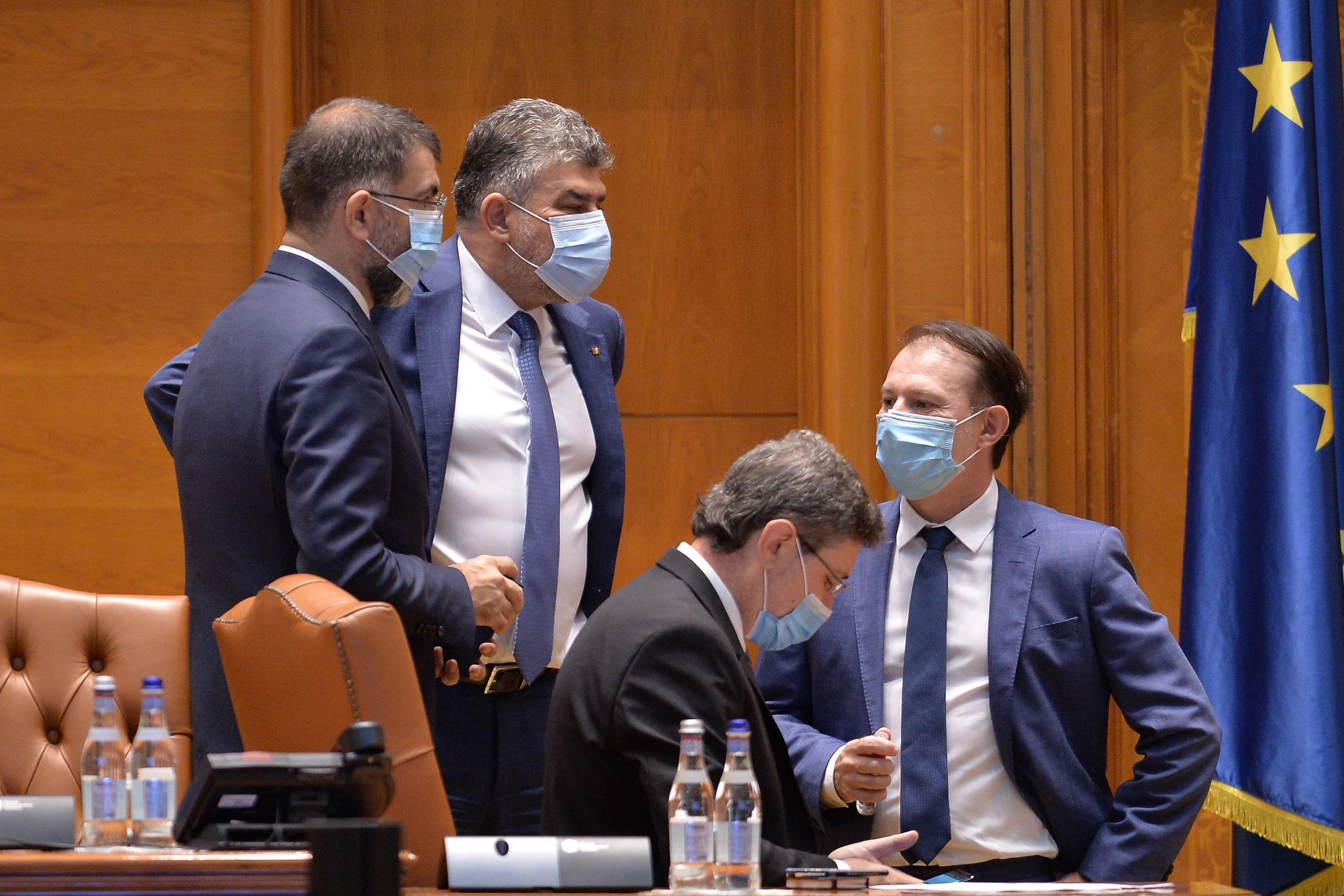 """Marcel Ciolacu, despre o posibilă alianță cu PNL: """"Exclus! Cu cine, cu Turcan la guvernare? Cu Orban, cu Cîţu?"""""""
