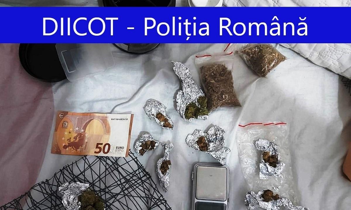 Traficanţii de droguri din Constanţa erau specializaţi în comercializarea de cannabis şi de etnobotanice