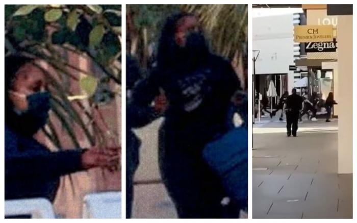 Imagini cu suspecții jafului din magazinul Louis Vuitton din California