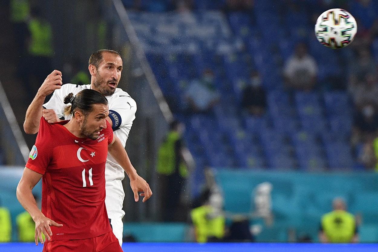 LIVE TEXT Turcia - Italia 0-0, meciul de deschidere al EURO 2020. Chiellini ratează o ocazie imensă