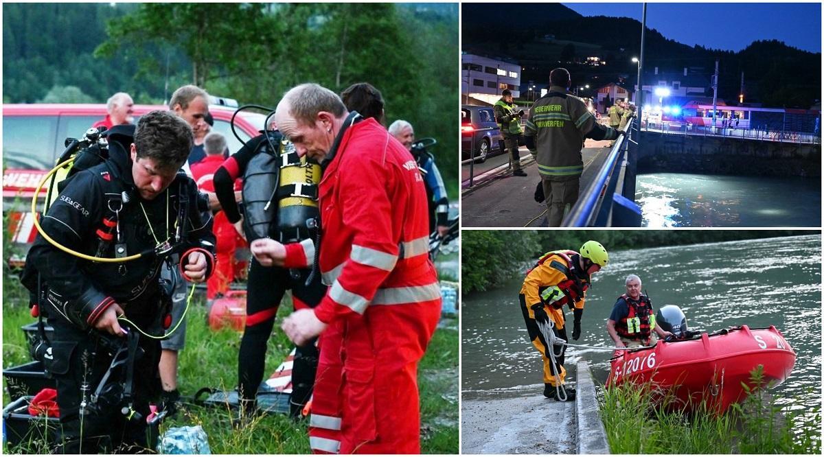 Un român a murit înecat în Austria, încercând să ajute o femeie. Zeci de salvatori l-au căutat în apele râului Salzburg