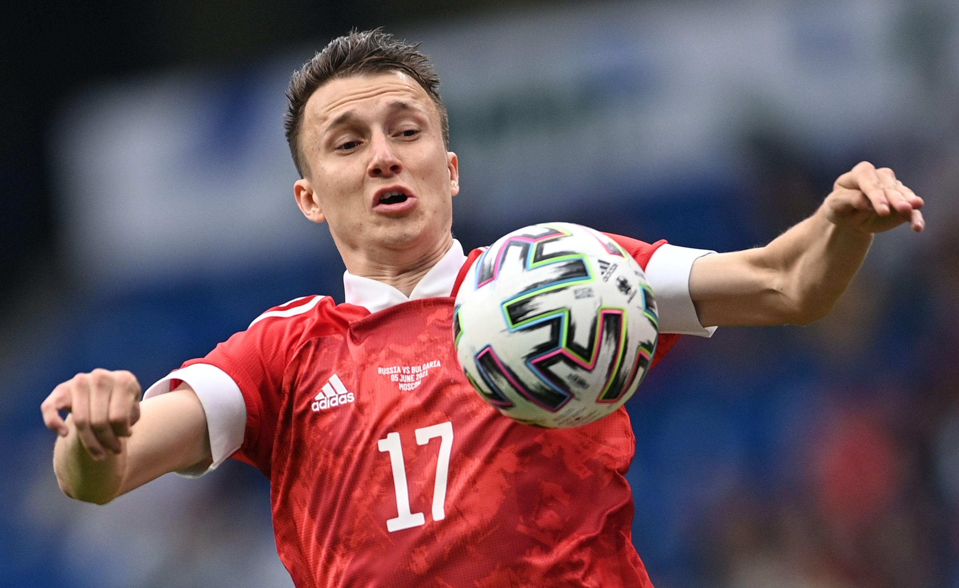 Lotul Rusiei la Euro 2020. Golovin, probabil cel mai talentat jucător rus