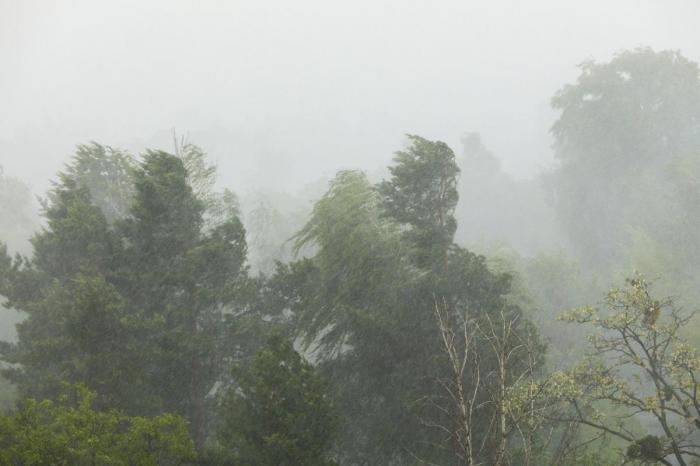 Ploi torențiale și grindină în România