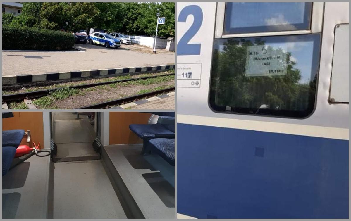Un bărbat de 57 de ani a murit în trenul accelerat Iași - București chiar lângă soţia sa. Femeia a crezut tot timpul că acesta doarme