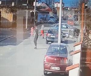 VIDEO: Imagini cu accidentul în care două fete au fost ucise pe trotuar, în cartierul Andronache