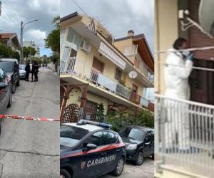 S-au auzit ţipete inumane, ceva prăbuşindu-se şi apoi tăcere. Un român şi-a ucis soţia, după care s-a sinucis, în timp ce copilul lor, în vârstă de 10 ani, se afla la şcoală, în Italia