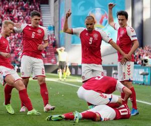Christian Eriksen s-a prăbușit pe teren, la Euro 2020. Jucătorul danez nu mai respira, colegii erau cu ochii în lacrimi