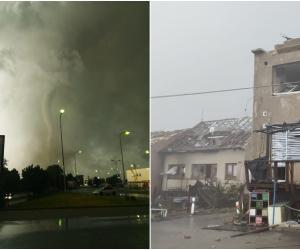 Cehia, lovită de o tornadă devastatoare: peste 150 de răniți. Guvernul ar putea mobiliza armata